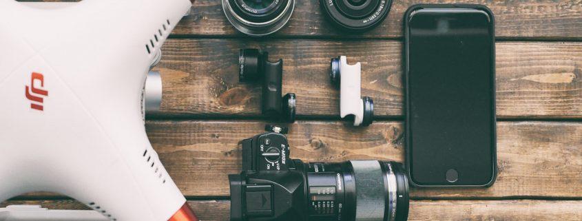 drone footage for a wedding film